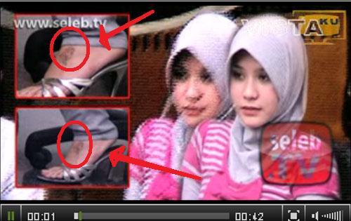 ini lho contoh anak kecil yang suka liat sinetron n info-tai-ment: