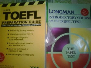 cliffs n longman toefl